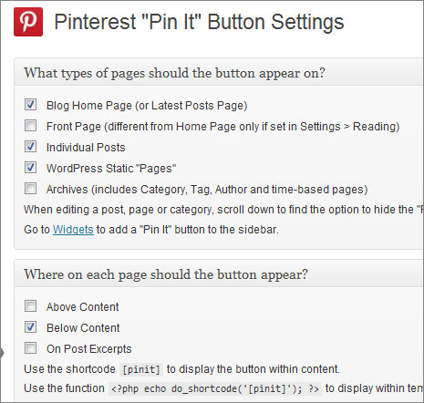 pinterest pin it WordPress