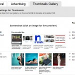 thumbnails gallery