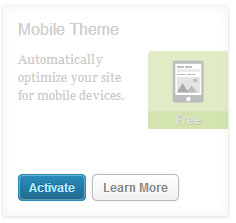 wp mobile theme
