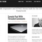 10 WordPress Themes Based on Genesis 2.0 and HTML5