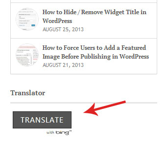 wordpress-translator