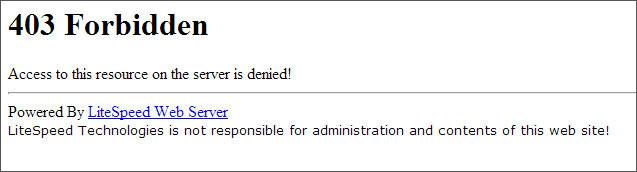 How to Fix Error 403 Forbidden - Access Denied on Wp-admin / login