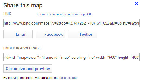 bing-map-wp