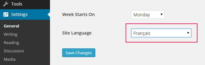 wp-site-language