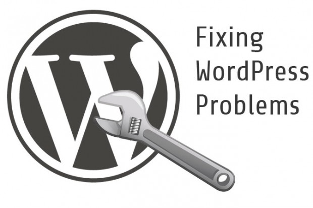 fix wordpress problems