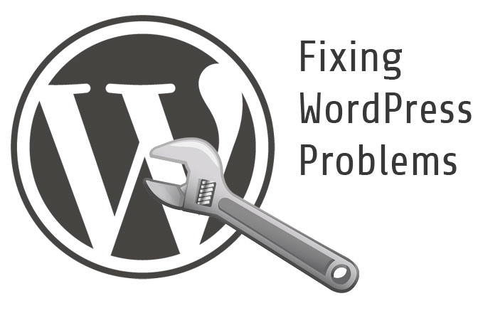 fix wordpress problems