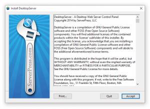 DesktopServer Install