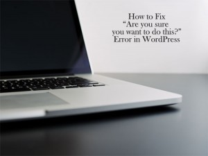 fix wordpress error