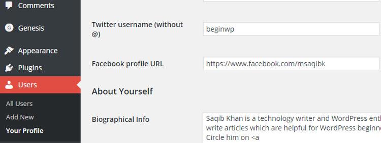 users-profile