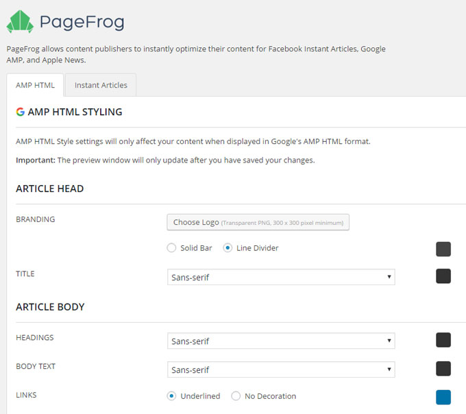 pagefrog-amp-styling