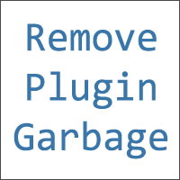 plugin garbage remove